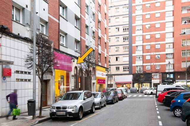 2 bedroom Commercial for sale in Gijon with garage - € 90,000 (Ref: 6159286)