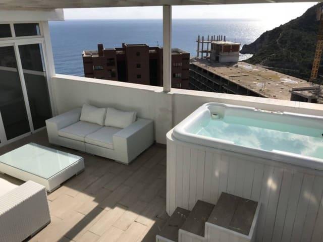 4 soveværelse Penthouse til leje i Cala de Finestrat med swimmingpool garage - € 1.500 (Ref: 5440064)