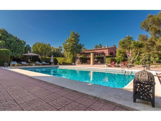 5 soverom Villa til leie i Santa Faz med svømmebasseng garasje - € 4 400 (Ref: 5440086)