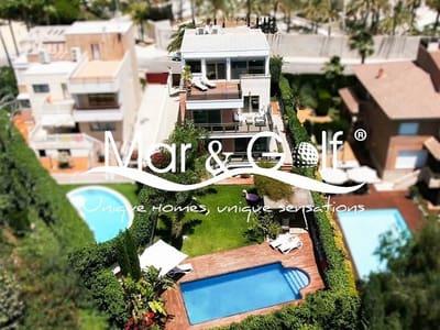 4 slaapkamer Villa te huur in Alicante stad met zwembad garage - € 4.500 (Ref: 5395720)