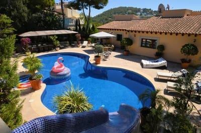 6 bedroom Villa for sale in Costa d'en Blanes with pool garage - € 2,550,000 (Ref: 5395846)