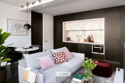 2 sovrum Takvåning att hyra i Barcelona stad - 3 500 € (Ref: 5424300)