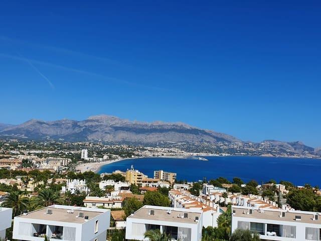 2 slaapkamer Penthouse te huur in Albir met zwembad garage - € 1.000 (Ref: 5484911)