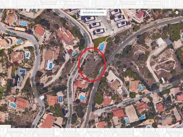 Ubebygd land til salgs i El Campello - € 80 000 (Ref: 5540360)