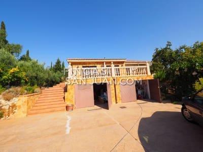 4 sovrum Villa att hyra i Aguas de Busot / Aigues med garage - 1 400 € (Ref: 5455189)