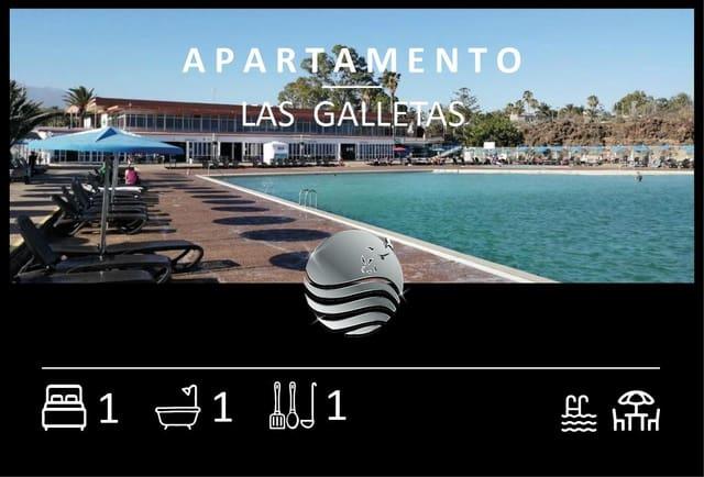 1 makuuhuone Asunto myytävänä paikassa Arona mukana uima-altaan - 122 000 € (Ref: 5943535)