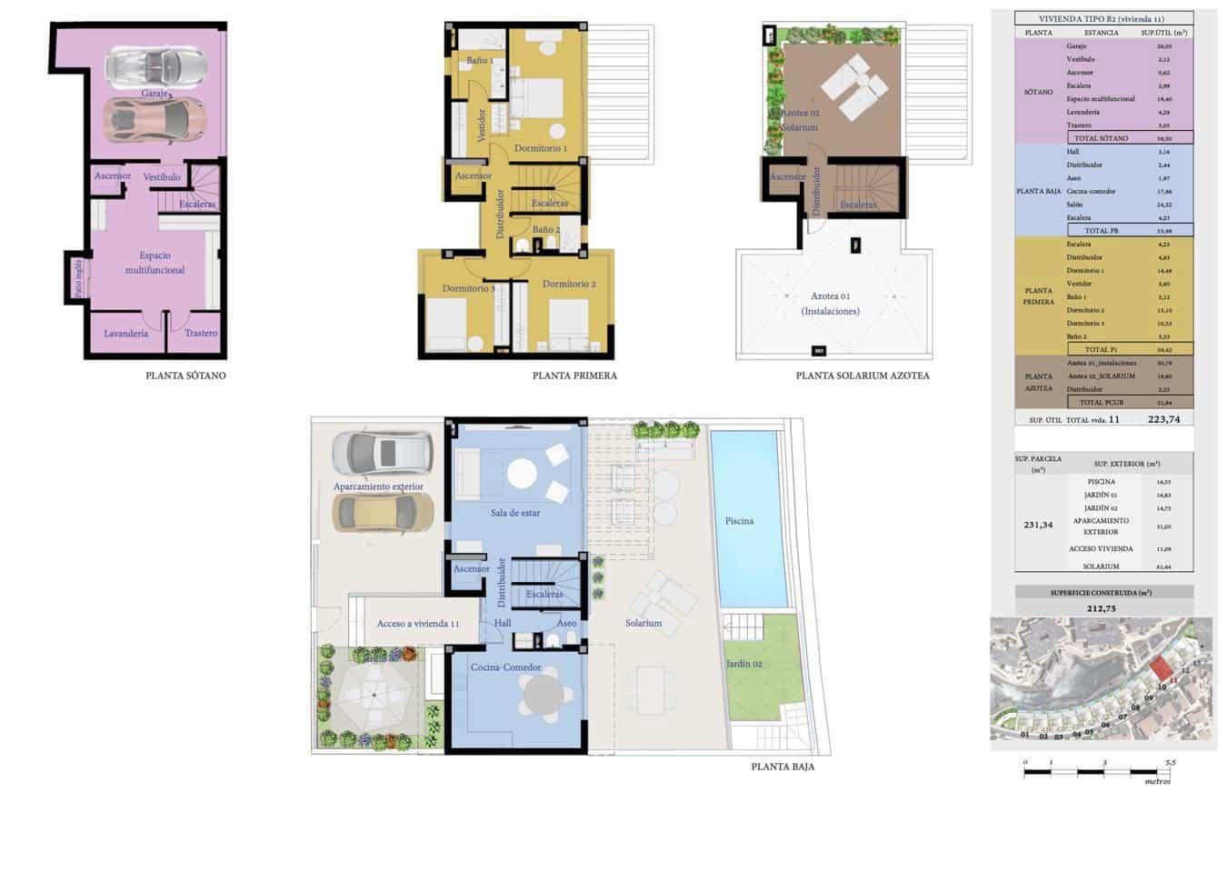 Chalet de 3 habitaciones en San Miguel de Abona en venta con piscina - 540.000 € (Ref: 6065700)