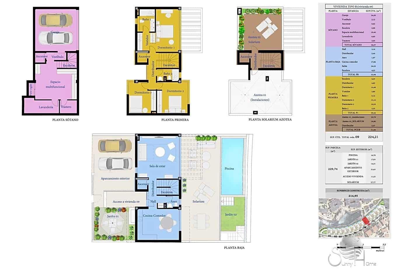 Chalet de 3 habitaciones en San Miguel de Abona en venta con piscina - 520.000 € (Ref: 6065702)