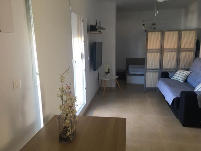 1 makuuhuone Yksiö myytävänä paikassa Mil Palmeras mukana uima-altaan  autotalli - 84 500 € (Ref: 6128696)