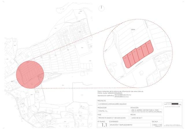 Terrain à Bâtir à vendre à Xativa - 45 000 € (Ref: 5592225)
