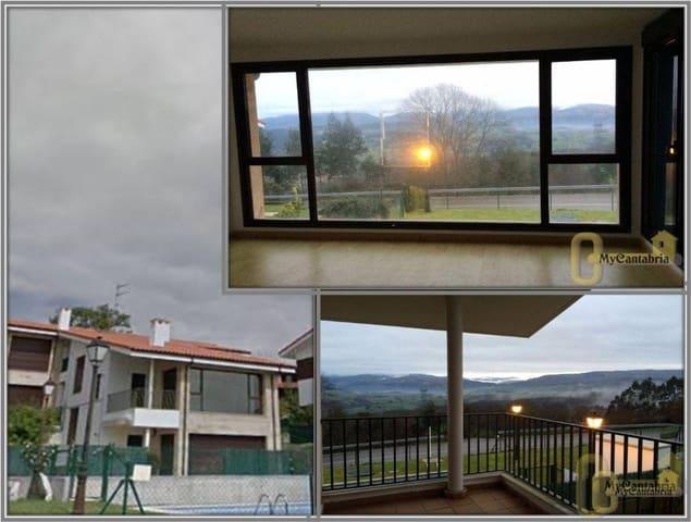 Piso de 2 habitaciones en Udías en venta con piscina garaje - 82.000 € (Ref: 5639983)