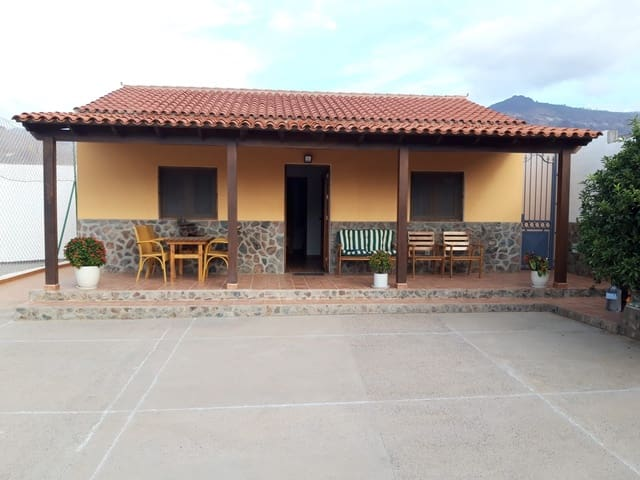 2 Zimmer Ferienhaus in La Aldea de San Nicolas mit Pool - 600 € (Ref: 5684086)