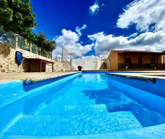 2 camera da letto Casa da affitare come casa vacanza in La Aldea de San Nicolas con piscina - 600 € (Rif: 5684086)