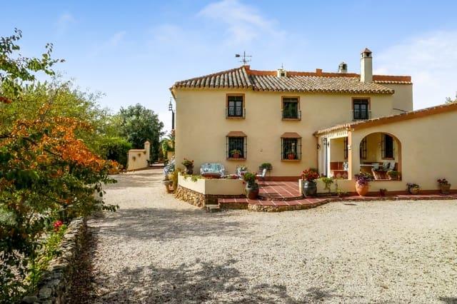 6 sovrum Finca/Hus på landet till salu i Villanueva del Rosario med pool - 849 000 € (Ref: 5721682)