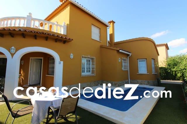 3 bedroom Villa for holiday rental in Oliva Nova with pool garage - € 108 (Ref: 5673364)