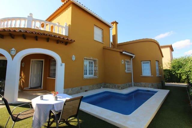 Chalet de 3 habitaciones en Oliva Nova en alquiler vacacional con piscina garaje - 109 € (Ref: 5917833)