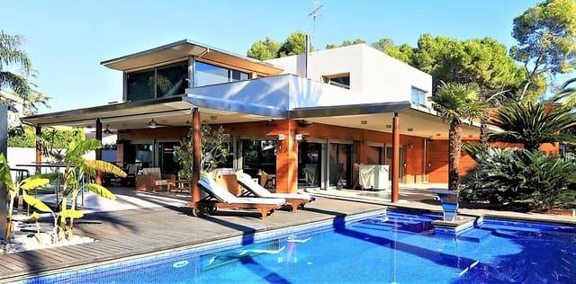 7 quarto Moradia para arrendar em L'Eliana com piscina - 6 000 € (Ref: 6106658)