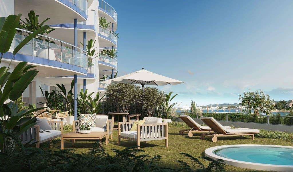 3 bedroom Beach Apartment for sale in Ibiza / Eivissa town - € 443,200 (Ref: 6251706)