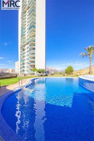 3 quarto Apartamento para venda em Benidorm com piscina garagem - 171 000 € (Ref: 6100780)