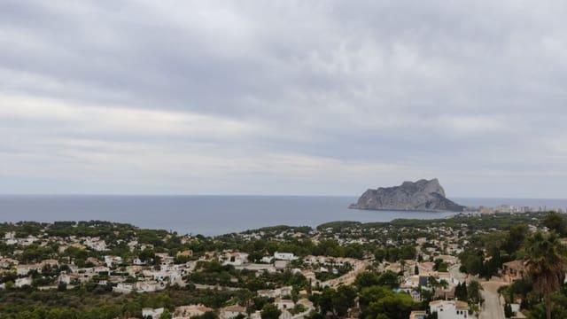 Terre non Aménagée à vendre à Moraira - 300 000 € (Ref: 5939088)