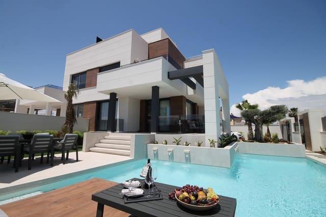 4 sypialnia Dom blizniak na sprzedaż w Torrevieja z basenem - 449 000 € (Ref: 5962563)