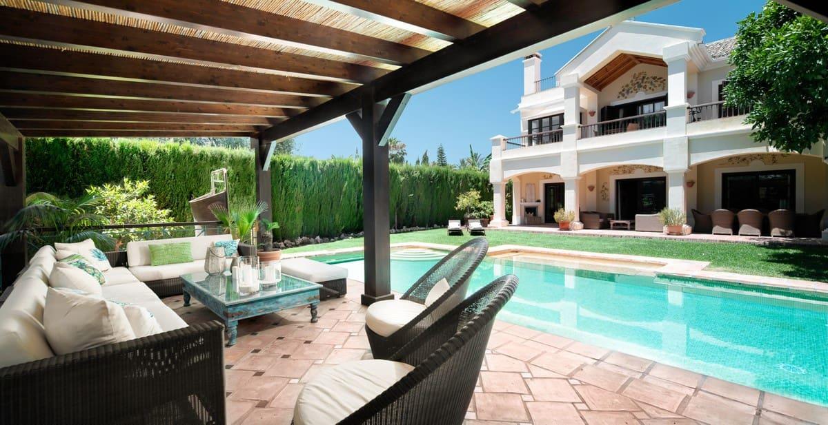 5 quarto Moradia para arrendar em Marbella com piscina - 12 000 € (Ref: 6332243)