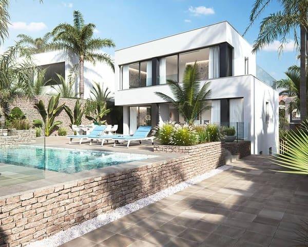 3 sypialnia Dom blizniak na sprzedaż w La Manga del Mar Menor z basenem garażem - 1 950 000 € (Ref: 6045889)