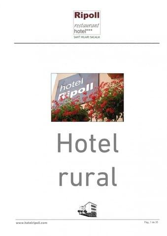 28 quarto Hotel para venda em Sant Hilari Sacalm - 1 495 000 € (Ref: 6099484)