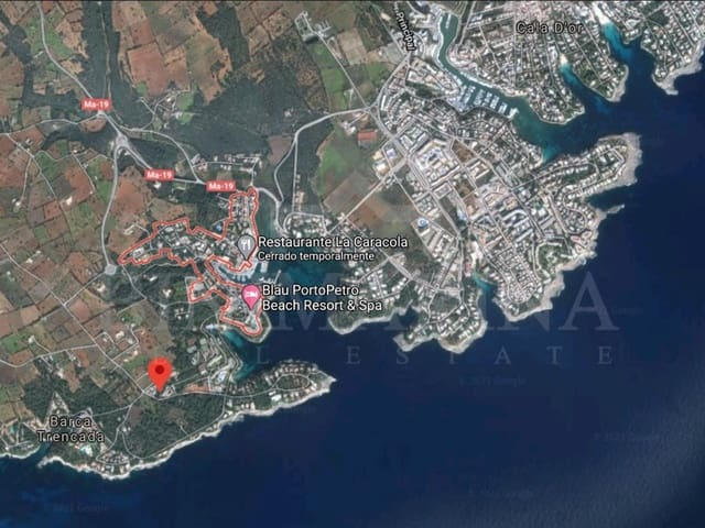 Byggegrund til salg i Porto Petro - € 730.000 (Ref: 6238859)
