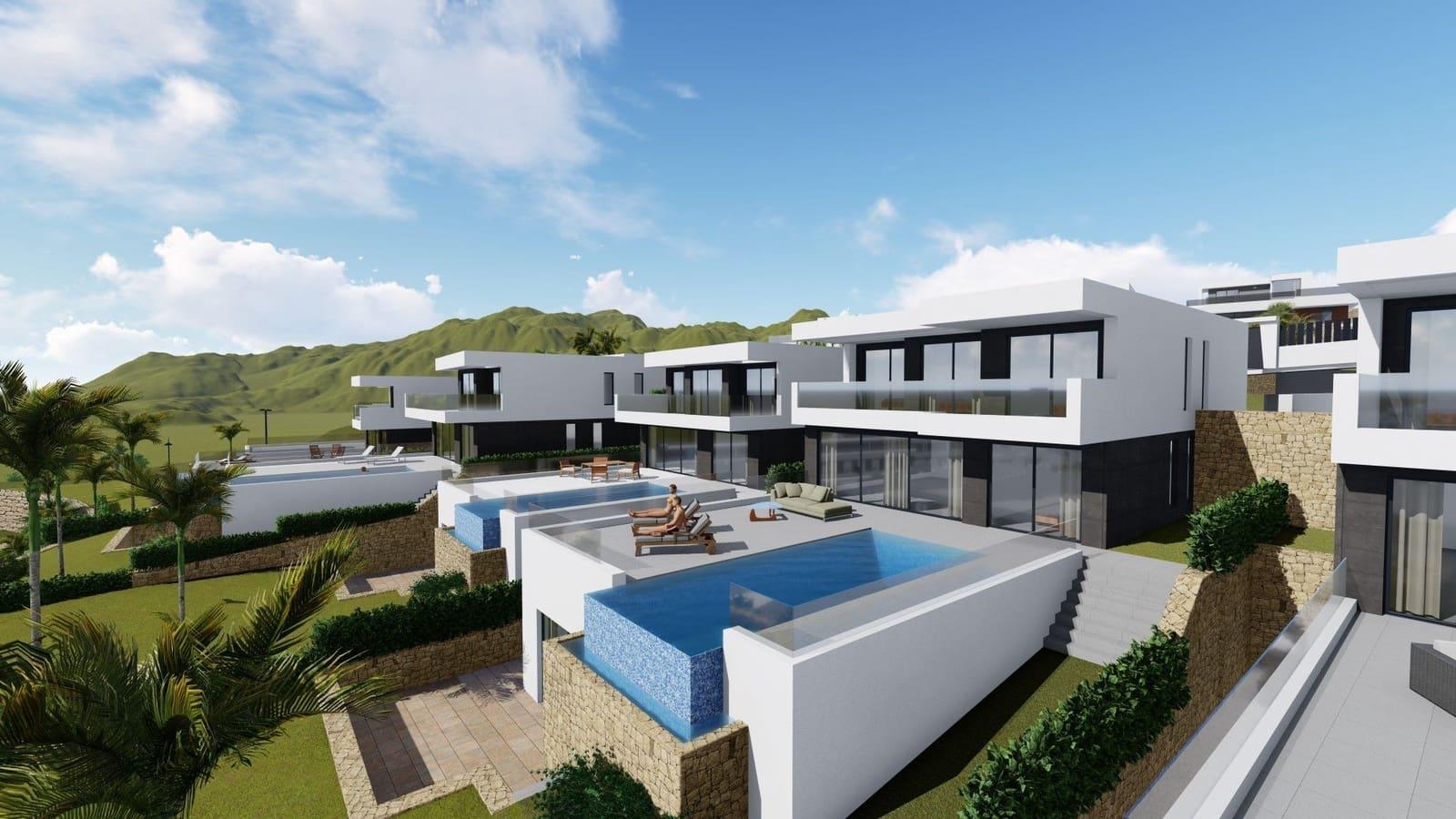 4 bedroom Villa for sale in Finestrat with pool garage - € 680,000 (Ref: 6249903)