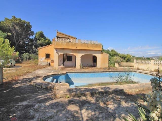 3 sypialnia Finka/Dom wiejski na sprzedaż w Benitachell / Benitatxell z basenem - 235 000 € (Ref: 6219144)