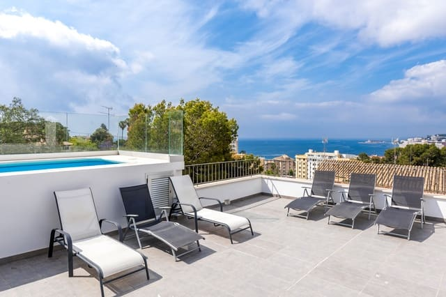 5 soverom Rekkehus til salgs i Cala Mayor med svømmebasseng - € 2 200 000 (Ref: 5171296)