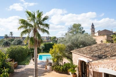 6 bedroom Townhouse for sale in Santa Maria del Cami with pool - € 2,650,000 (Ref: 5171303)