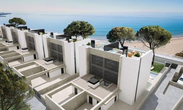 4 sypialnia Dom blizniak na sprzedaż w Playa de Muchavista z basenem garażem - 1 450 000 € (Ref: 6325899)