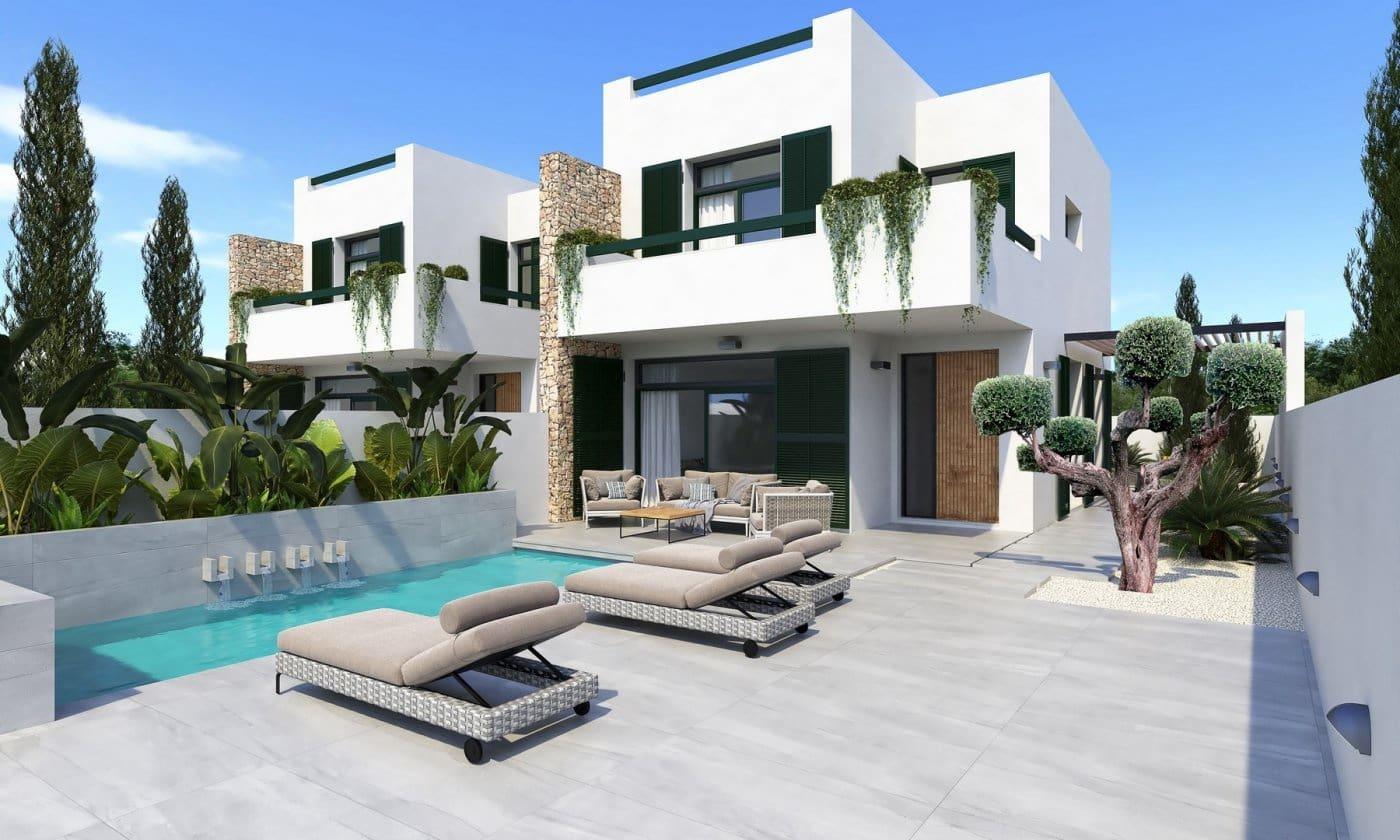 3 sypialnia Dom blizniak na sprzedaż w Daya Nueva z basenem - 307 000 € (Ref: 6325901)