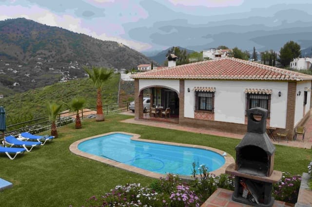 3 soveværelse Bungalow til leje i Torrox med swimmingpool - € 1.000 (Ref: 4865168)