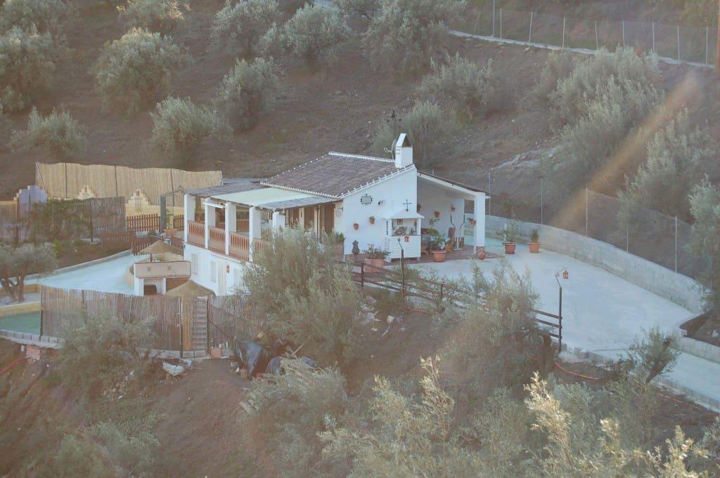 3 sovrum Finca/Hus på landet att hyra i Frigiliana med pool - 700 € (Ref: 4926578)