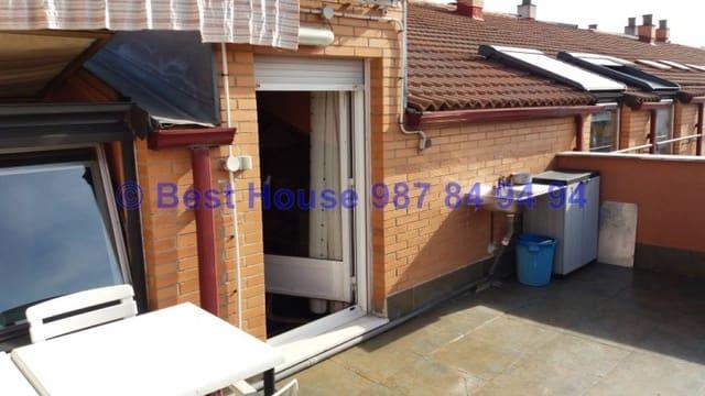 4 sovrum Takvåning till salu i Leon stad med garage - 310 000 € (Ref: 6346638)