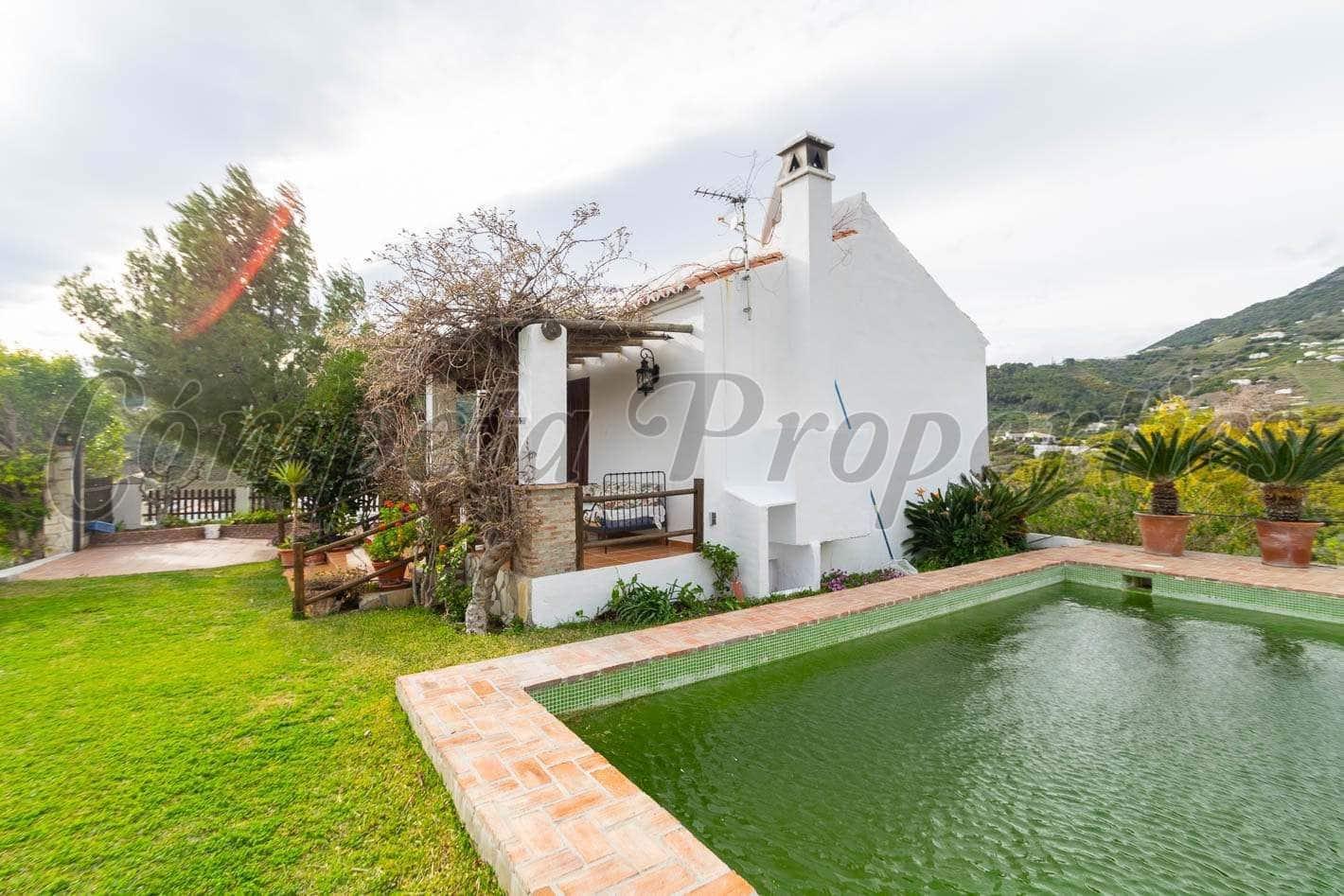 2 camera da letto Finca/Casa di Campagna da affitare come casa vacanza in Frigiliana con piscina - 780 € (Rif: 5153207)