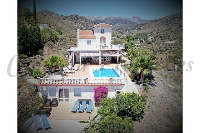 6 sypialnia Finka/Dom wiejski na kwatery wakacyjne w Torrox-Costa z basenem - 2 520 € (Ref: 5540213)