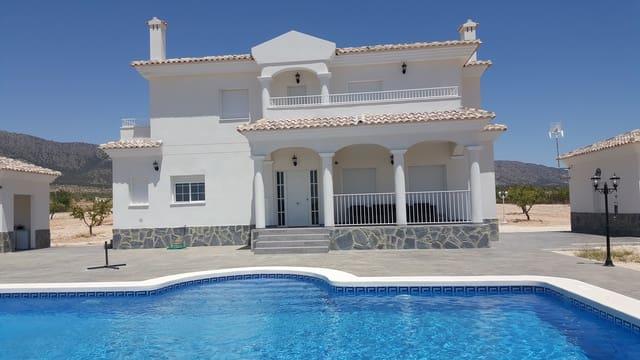 4 makuuhuone Huvila myytävänä paikassa Pinoso mukana uima-altaan - 219 500 € (Ref: 5649744)