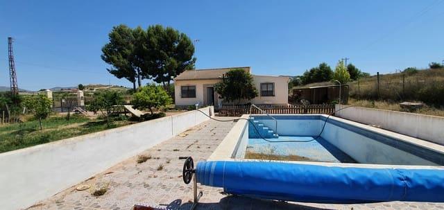 4 Zimmer Finca/Landgut zu verkaufen in Sax mit Pool - 160.000 € (Ref: 6125759)