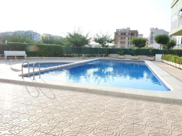 2 soverom Leilighet til salgs i Guardamar de la Safor med svømmebasseng garasje - € 116 000 (Ref: 5523465)
