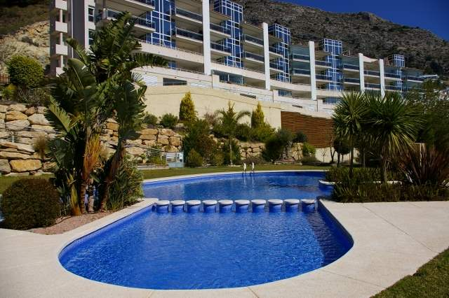 3 bedroom Apartment for holiday rental in Altea with pool garage - € 450 (Ref: 2738449)