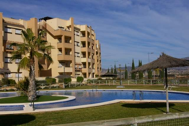 2 bedroom Apartment for rent in La Tercia with pool - € 385 (Ref: 712967)