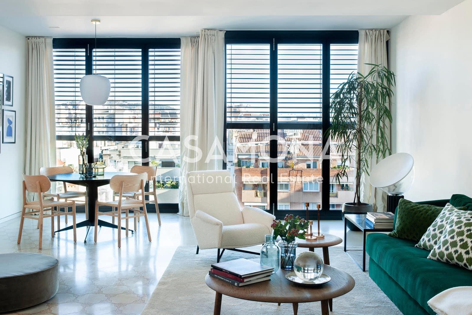 4 soverom Leilighet til leie i Barcelona by - € 8 500 (Ref: 5738359)