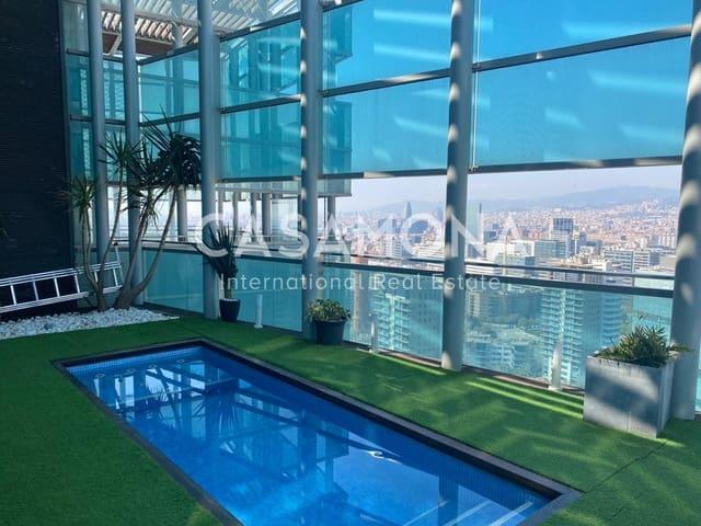 4 sovrum Takvåning till salu i Barcelona stad med pool - 4 150 000 € (Ref: 6015537)