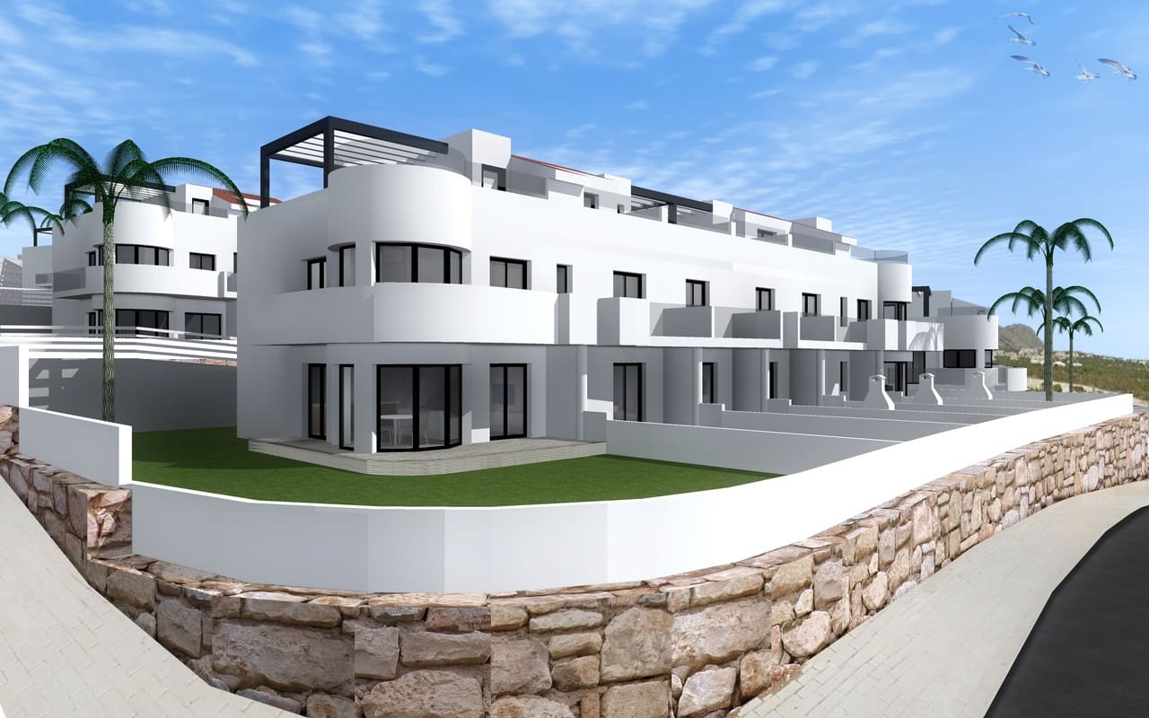 2 bedroom Townhouse for sale in Finestrat with pool - € 159,900 (Ref: 5030021)