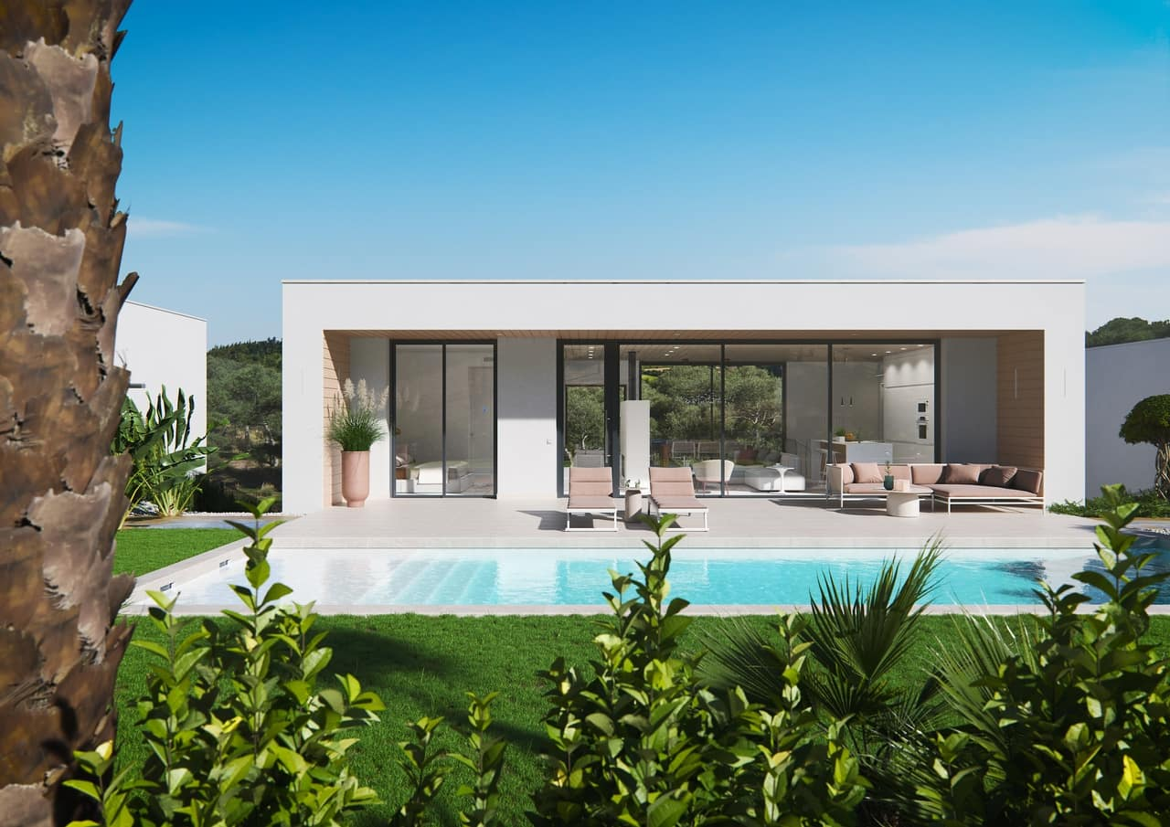 Chalet de 3 habitaciones en Las Colinas Golf en venta con piscina - 545.000 € (Ref: 5089446)