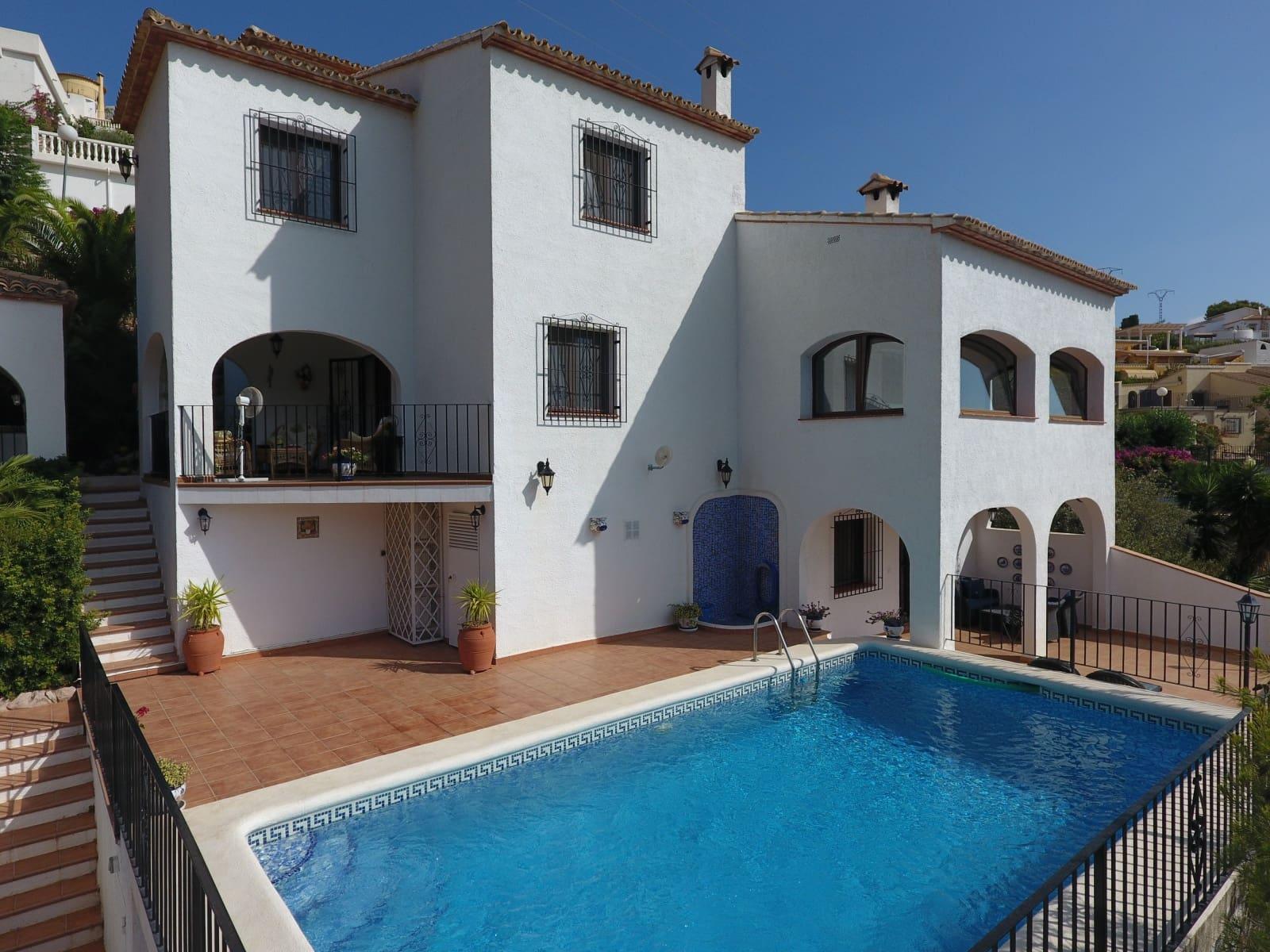 Finca/Casa Rural de 4 habitaciones en Adsubia en venta con piscina - 349.000 € (Ref: 4346645)
